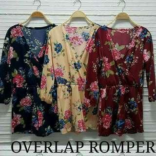 Overlap Romper