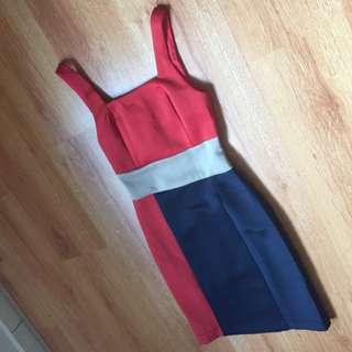 Zalora Colorblock Dress