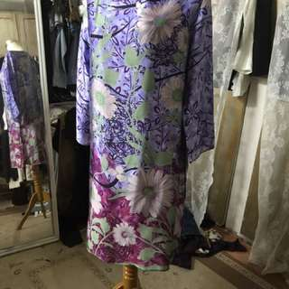 100% silk dress by kmpng butik