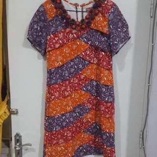 Dress Batik Unique