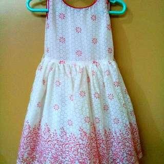 Little Miss Elegant Oriental Red Dress