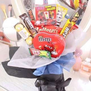 Chocolate/Candy Bouquet gift ideas