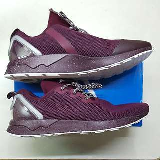 Authentic Adidas Zx Flux Racer ASYM Maroon