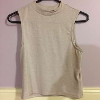 New High neck Top size 6