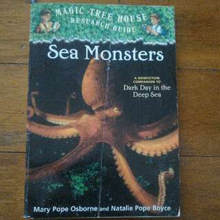 Magic Tree House Research Guide - Sea Monsters