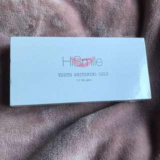 HiSmile teeth whitening gels x3