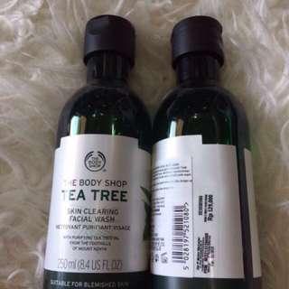 Body Shop Tea Tree Facial Wash 250ml