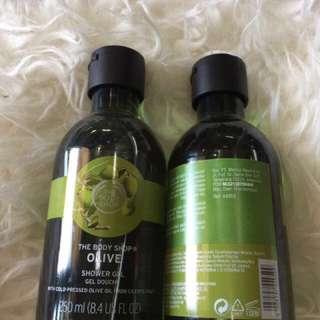 Body Shop Olive Shower Gel 250ml