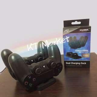 PS4雙充電收納手制座 (實物圖)
