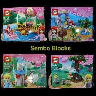 Sembo Blocks - Princess