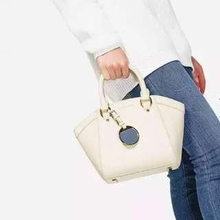 CHARLES & KEITH Curved City Handbag