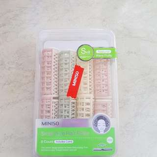 Miniso Hair Rollers (8pcs)