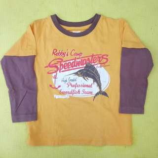 Baby Boy's Long Sleeve (for 1-2 y.o.)