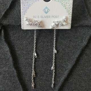 Korean Silver Fashion Earrings