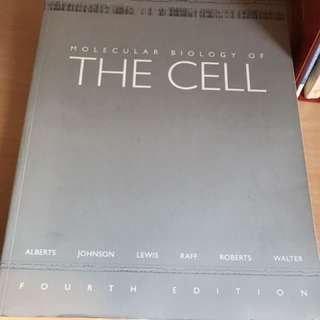 Molecular Biology of The Cell 4th edition