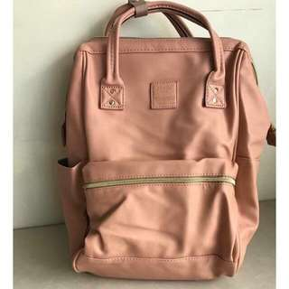 Anello leather backpack
