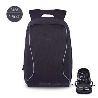 Tigernu 17 inches anti-theft & waterproof bag