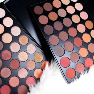 35O Matte And 35O Shimmer Nature Glow Eyeshadow Palette