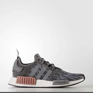 Adidas NMD Heather Grey Raw Pink