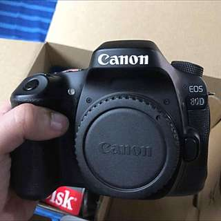 Canon EOS 80D with 50mm 1.8 STM lens