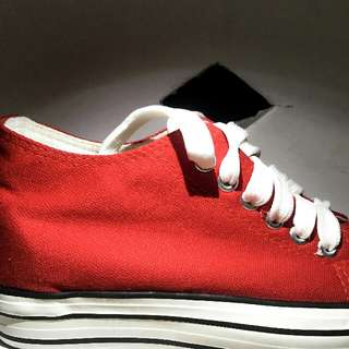 Insipired By CONVERSE Shoes (Red) XinBan - Kids
