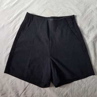 Terranova Black High Waisted Shorts