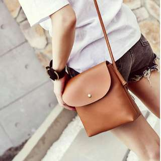 Free Shipping Leather Sling Bag