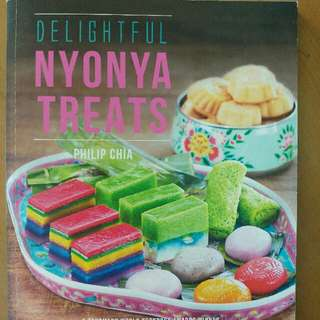 Delightful Nonya Treats - Philip Chia  ℹ📒 Genre: #nonyakueh #asiancooking. #nonfiction. #cookbook. #philipchia #recipe