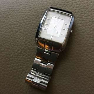 DKNY Solid Stainlee Steel Silver Watch 不銹鋼 手錶 碗錶