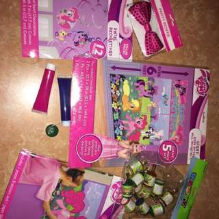 MY LITTLE PONY PARTY STUFF