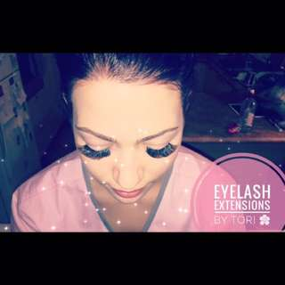 EYELASH EXTENSION SALE 🌸