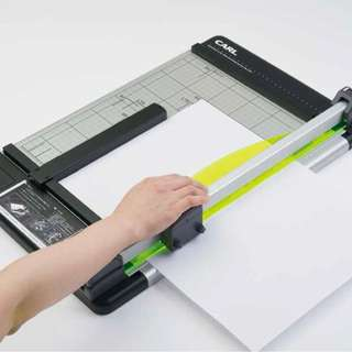 Paper Trimmer/Rotary Disk Cutter, Scoring, Perforating ★A4Professional Heavy Type★ Japan Import :) ★