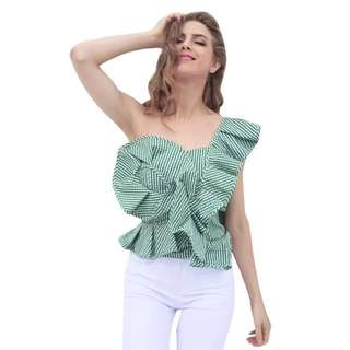 Looking for Ruffle Top