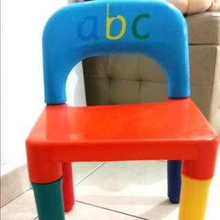 Child sitting chair