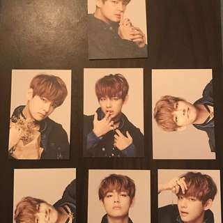 V epilogue set BTS
