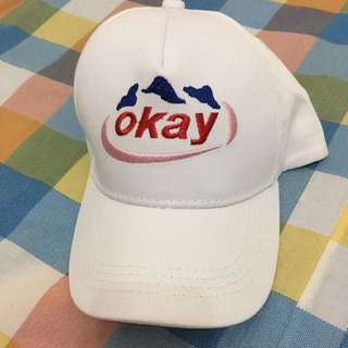 Okay帽 帽子 老帽 鴨舌帽 古著 復古