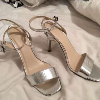 Silver ball shoes