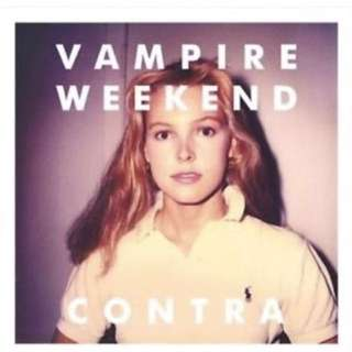 Vampire Weekend Contra Vinyl Record