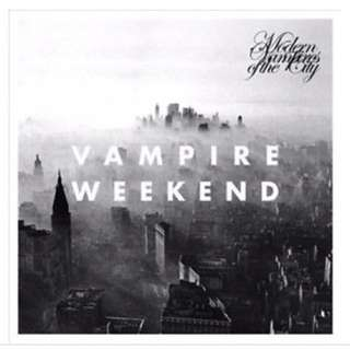 Vampire Weekend Modern Vampires Of The City Vinyl Record