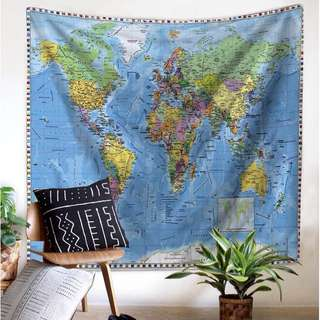 [Pre Order] Map Tapestry