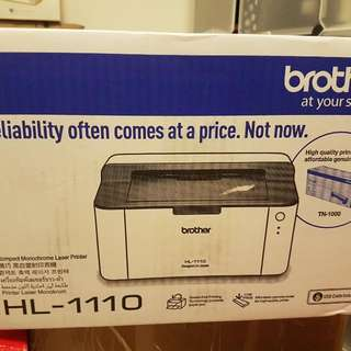 Brand New Brother HL-1110 Printer