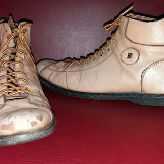 Bally Leather Semi Boots ORIGINAL (Size 43)