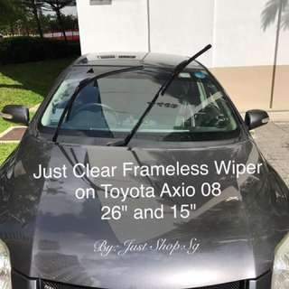 Just Clear Frameless Wiper