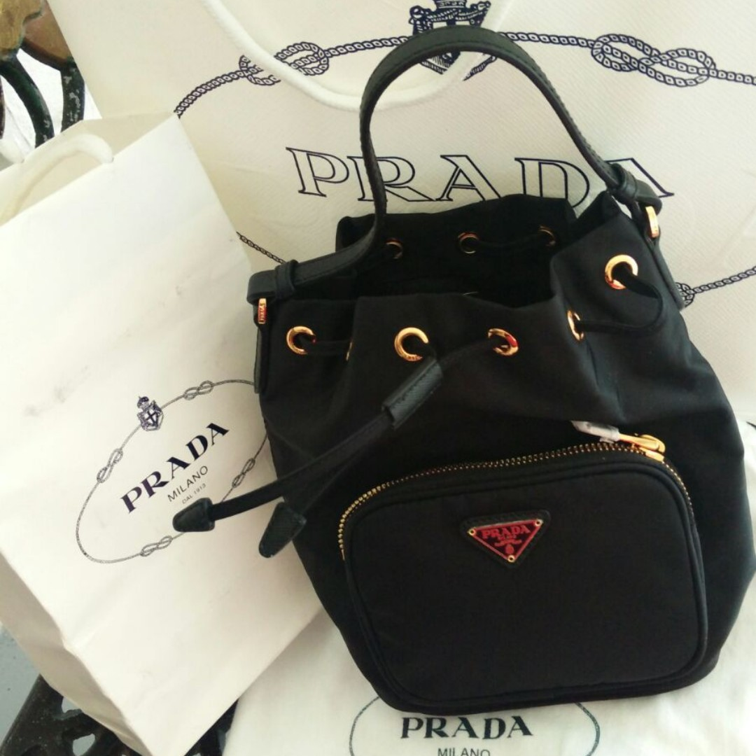 42ab8897e7bb ... spain 1n1864 prada tessuto nylon sling bag 100 authentic new womens  fashion bags wallets on carousell ...