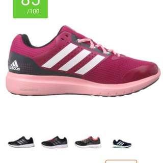 Pink Adidas Duramo shoes