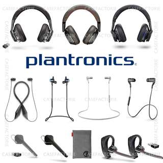 PLANTRONICS ALL MODELS MOBILE BLUETOOTH WIRELESS HEADSET EARPHONE HEADPHONE (Authentic) (Self-Collection) (Postage)