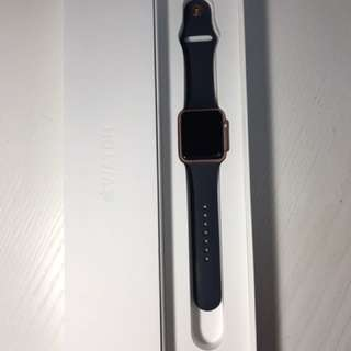 apple watch series1 42mm 玫瑰金