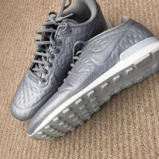 Nike silver trainers - size 10