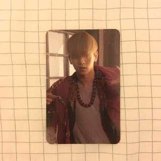 Shinee Key Sherlock Official Photocard