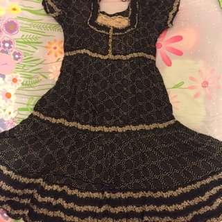 Franche Lippee 80% New 連身裙 (巳車Lace邊,不用配打底)方便之選